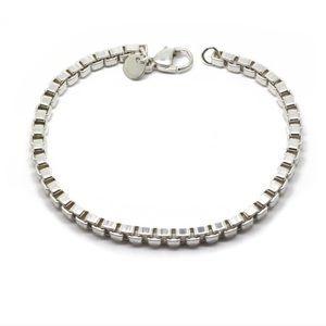 Tiffany & Co. Venetian chain link Silver Bracelet